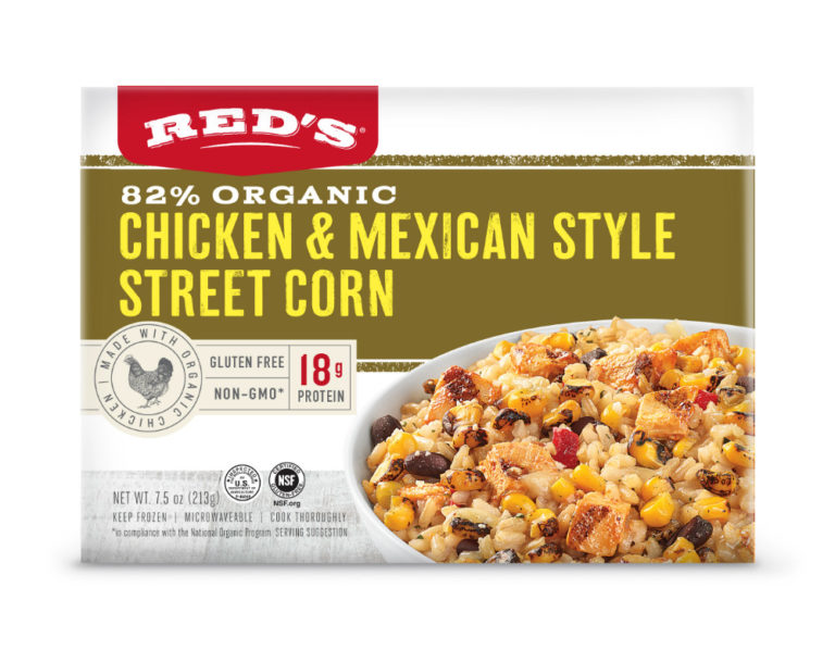 Red's Chicken & Mexican Style Street Corn Bowl
