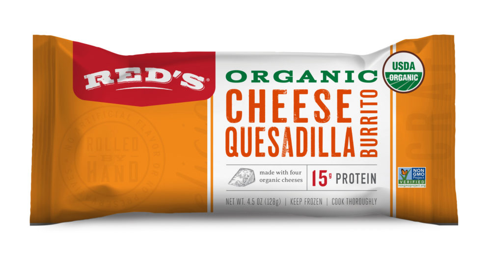 Red's Cheese Quesadilla Burrito