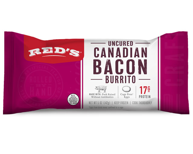 Red's Canadian Bacon Burrito