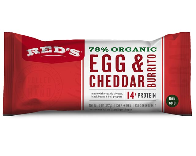 Red's Egg & Cheddar Burrito
