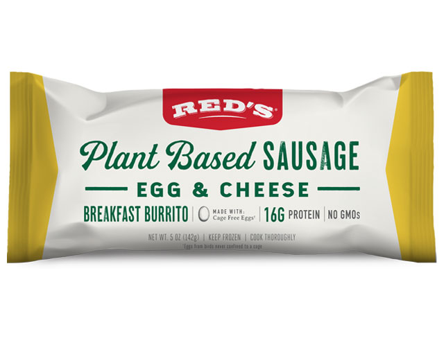 Red's Plant Based Sausage, Egg & Cheese Burrito