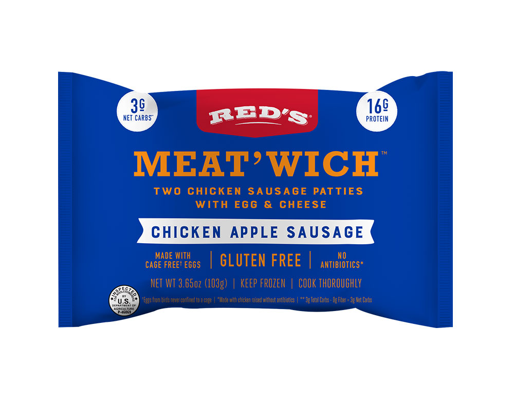 Red's Chicken Apple Sausage Meat'Wich