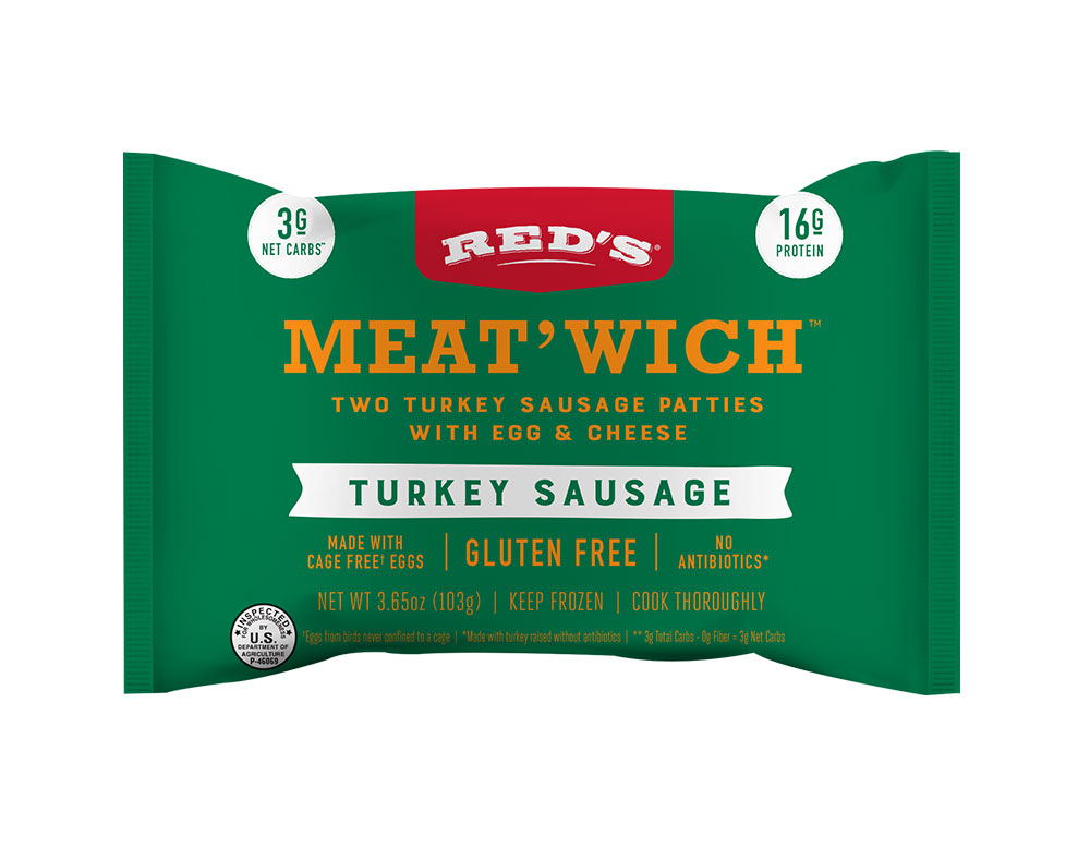 Red's Turkey Sausage Meat'Wich